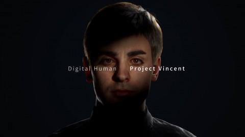 자이언트스텝이 공개한 디지털 휴먼 VINCENT