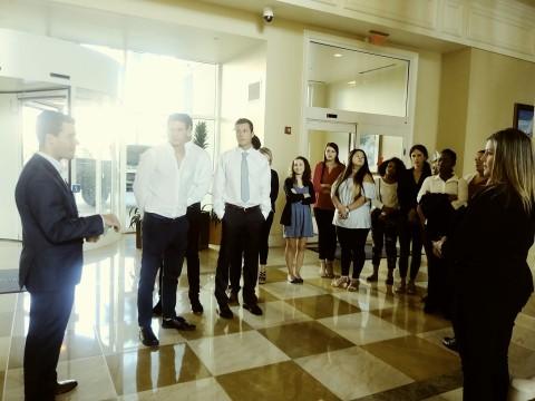 세인트리오대학교 국제환대, 이벤트, 호텔경영 전공 학생들