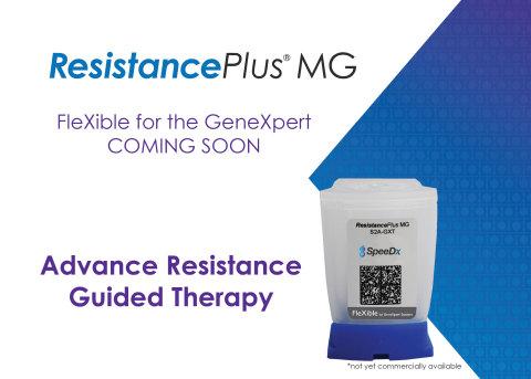 레지스턴스 플러스 MG는 진엑스퍼트 프로그램을 위한 세페이드 플렉서블을 통해 제공 가능한 최초의 시약이다