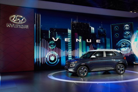 2019 뉴욕 국제 오토쇼에서 세계 최초로 공개된 현대자동차 베뉴