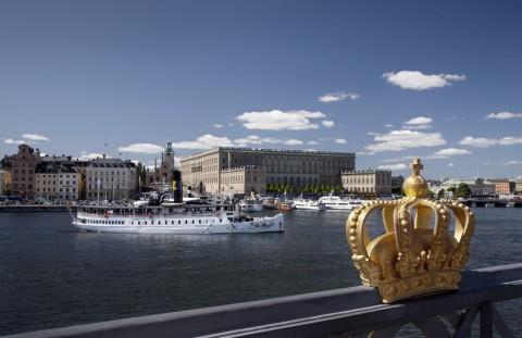 스웨덴 왕궁. 출처 Ola Ericson/imagebank.sweden.se