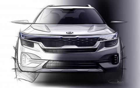 기아자동차는 올해 하반기 국내를 시작으로 인도, 유럽, 중국 등 전세계 고객들에게 선보일 예정인 하이클래스 소형 SUV의 첫 번째 외장 렌더링 이미지를 최초 공개했다