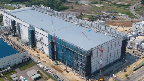 건설 중인 K1 생산시설
