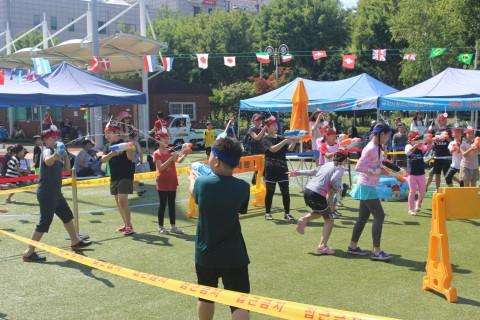구리시청소년어울림마당 여름물축제 물총대결