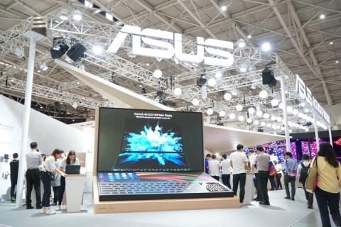 에이수스가 참여한 COMPUTEX 2019의 부스