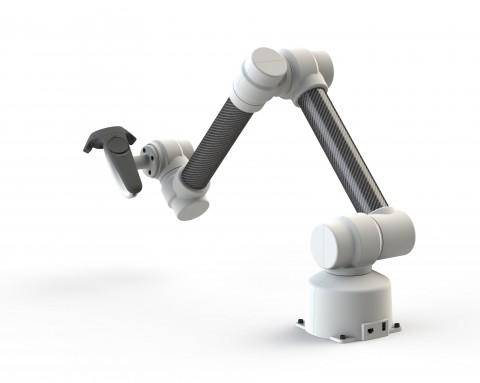 가상현실 기술에 적용된 링크다인의 고정밀 힘 제어 로봇팔