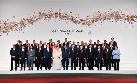 G20 오사카 정상회담 단체사진