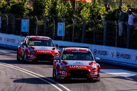 현대자동차 i30 N TCR이 2019 WTCR 6라운드 포르투갈전서 우승을 차지했다