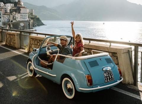 허츠가 이탈리아에서 뉴트로 전기차 컬렉션을 출시한다