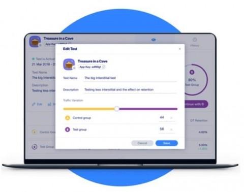 아이언소스가 광고 수익 극대화를 위한 A/B 테스팅 툴을 출시했다