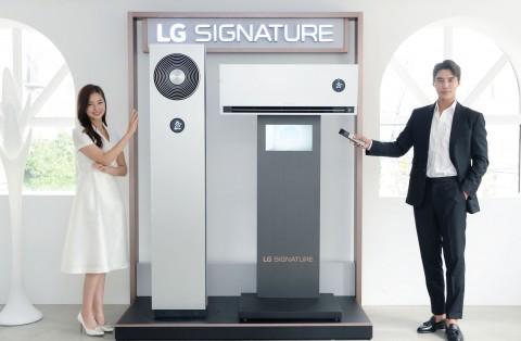 LG전자가 LG 시그니처 에어컨을 국내 출시했다