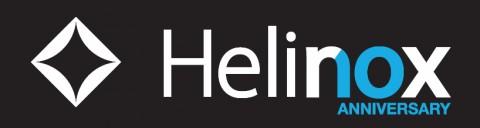 헬리녹스 10주년 기념 로고