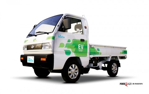 친환경 0.5톤 전기트럭 라보ev피스