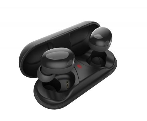 아이코모스가 블루투스 이어폰 프리존 터치 T2를 출시했다