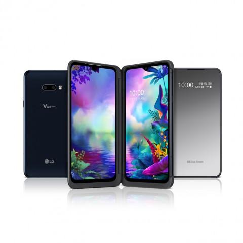 LG전자가 하반기 전략 스마트폰 LG V50S ThinQ를 공개했다