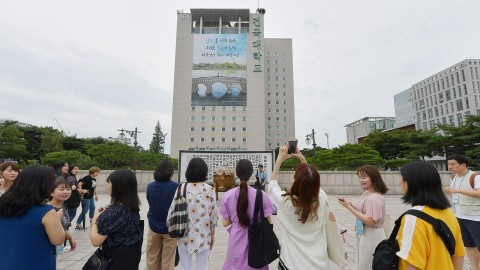 건국대가 시민들과 함께 한 HK+모빌리티 인문페스티벌을 개최했다