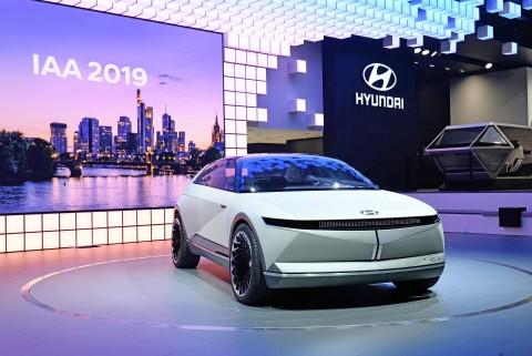 현대자동차의 2019 프랑크푸르트 모터쇼 전시 공간과 EV 콘셉트카 45