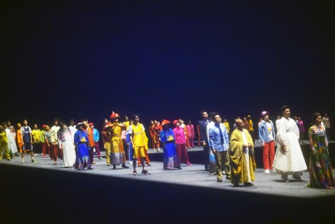 오로지 아미산 공연 현장