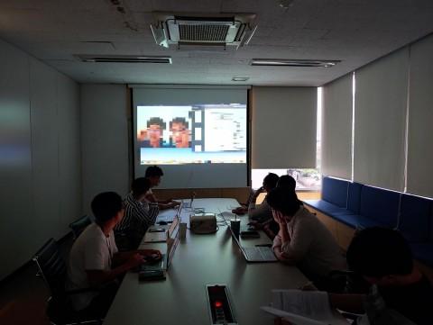 후오비 코리아는 10일 IT 재해복구 모의 훈련을 실시했다