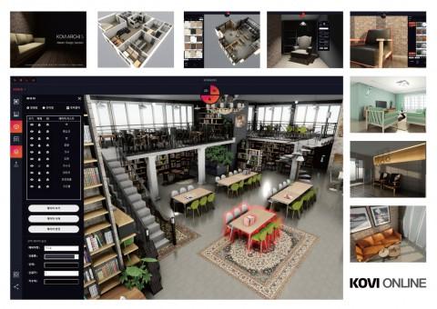 코비아키S 프로그램 구동 화면