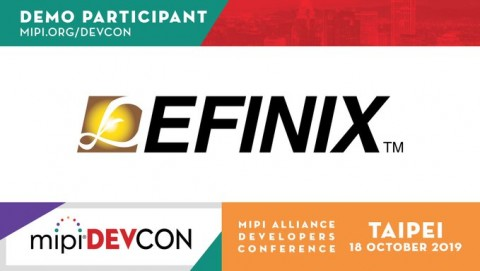 Efinix®는 MIPI DevCon Taipei 행사에 참가해 제품을 시연한다