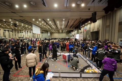 코리아로봇챔피언십 FTC 경기