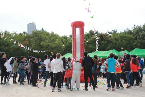 북부어울림체육대회 열기를 높여라 게임 진행