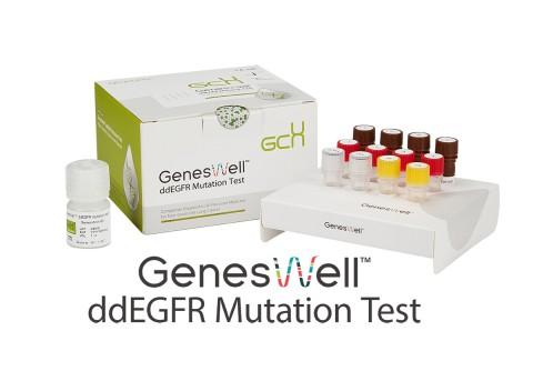 젠큐릭스의 폐암동반진단 키트 진스웰 ddEGFR Mutation Test