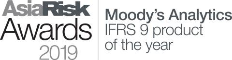 무디스 애널리틱스가 2019 아시아 리스크 어워드에서 올해의 IFRS 9 제품상을 수상했다