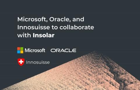 인솔라, 메인넷 출시 앞두고 마이크로소프트, 오라클, 이노스위스와 협업 발표