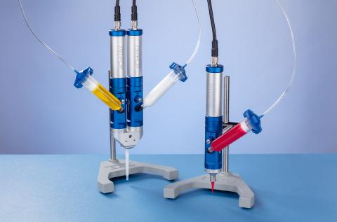 노드슨 EFD 797PCP 점진적 공동 펌프는 +/- 1%의 획기적인 일액형과 이액형 물질 디스펜싱 용량 정확성과 반복성을 제공한다