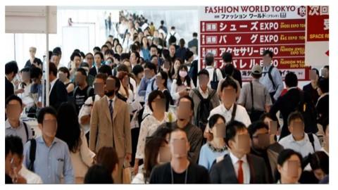 패션 월드 도쿄 2019[10월전] 전시장 전경