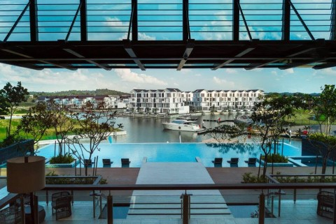 말레이시아 주택단지, 최상급 부대시설과 쾌적한 단지 환경이 조성되어 있다