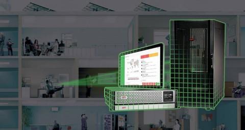 슈나이더 일렉트릭이 6U Wall Mount 에코스트럭처 마이크로 데이터 센터(6U Wall Mount EcoStruxure Micro Data Center)를 출시했다
