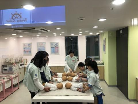 베이비 케어 센터 신생아 전문 간호사 체험