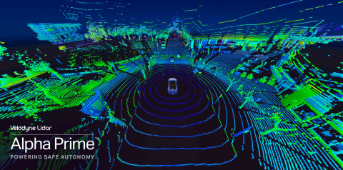 벨로다인 Alpha Prime은 운송, 트럭 운송 및 로봇 공학을 포함한 자율주행 시장을 위한 인식, 시야 및 범위에서 독보적인 솔루션이다