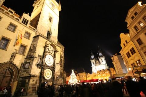 체코 프라하 크리스마스 마켓