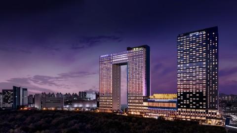 호텔 서울드래곤시티가 제14회 대한민국 생태환경건축대상 기술부문에서 최우수상을 수상했다