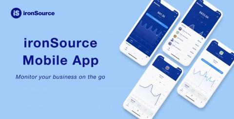 아이언소스가 광고 솔루션 모바일 앱을 출시했다