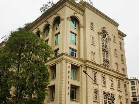 다나까귀금속(인도) 주식회사가 들어가게 될 빌딩 외관