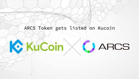 ARCS 토큰이 'KuCoin'에 상장을 확정했다