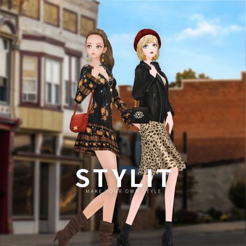 루비큐브의 3D 스타일링 게임 '스타일릿'