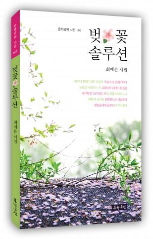 최예은 시집의 첫 시집 벚꽃 솔루션 표지