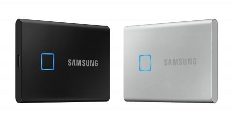 삼성전자가 포터블 SSD T7 Touch를 글로벌 출시했다
