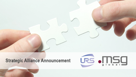 URS가 msg 글로벌 솔루션즈와 전략적 제휴를 체결했다