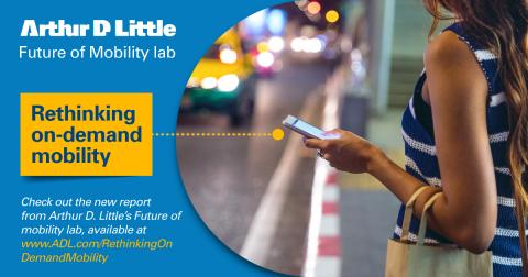Rethinking on-demand mobility