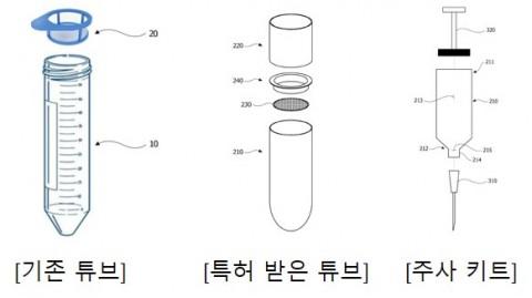 이뮤니스바이오 세포 회수용 튜브 및 주사 키트
