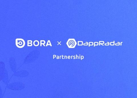 BORA와 댑레이더가 전략적 제휴를 맺었다
