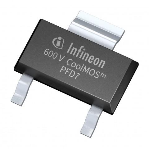 인피니언이 전력 밀도의 한계 뛰어넘은 600V CoolMOS PFD7 시리즈를 출시했다