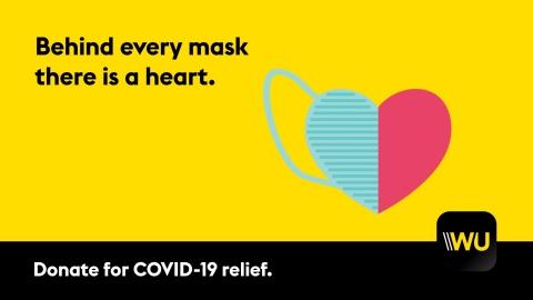 웨스턴 유니온이 전 세계 대상 코로나 바이러스 구호 활동에 동참한다